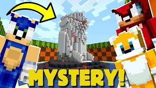 Minecraft Sonic The Hedgehog - Sonic Finds A MYSTERY Building! [24]