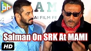 Salman Khan Refuses to Talk about Shah Rukh
