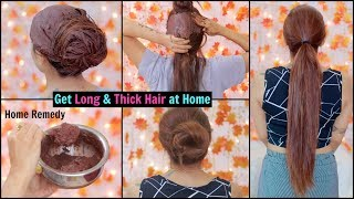 How To Get Thick And Long Hair Fast Naturally | Rinkal soni
