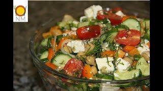 Сделай из обычной вылазки на природу настоящий праздник! Салат к шашлыку -вкуснятина летнего меню.