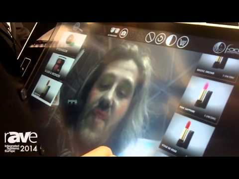 ISE 2014: Pyramid Demonstartes Application of Polytouch Display with Camera