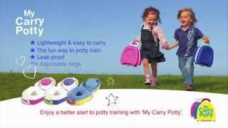My Carry Potty - Demonstration | BabySecurity