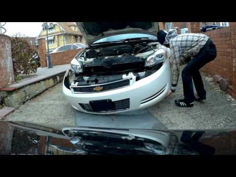 How to remove and install front bumper Chevrolet Impala