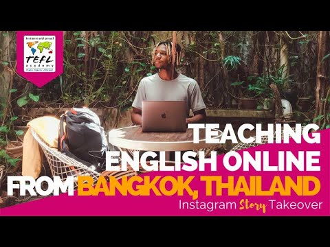 Day in the Life Teaching English Online from Bangkok, Thailand with Allen Tunstall