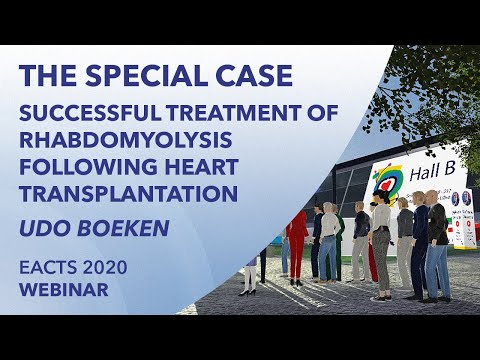 Successful treatment of rhabdomyolysis following heart transplantation | Udo Boeken | EACTS 2020