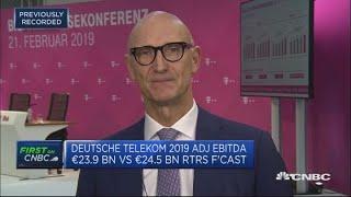 US is our star market, Deutsche Telekom CEO says   Street Signs Europe