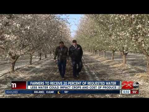 Water crunch hitting Kern County farms