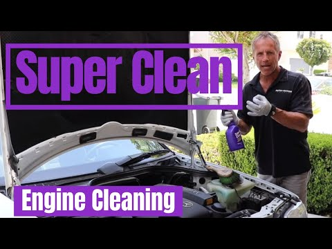 Super Clean Degreaser: Engine Cleaning with Darren