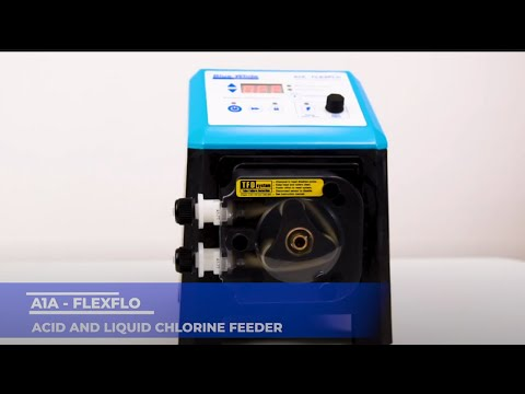 FLEXFLO® A1A - Acid and Liquid Chlorine Feeder by Blue-White Industries (Product Video)