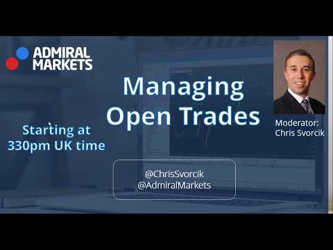 Live Trading Examples of Handling Open Trade Setups