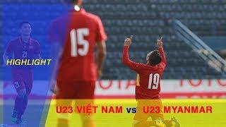 Highlight |  Quang Hải lập lập cú đúp siêu phẩm,  U23 Việt Nam thắng trận đầu tiên tại M-150 Cup