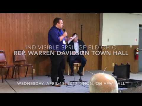 Rep Warren Davidson Town Hall
