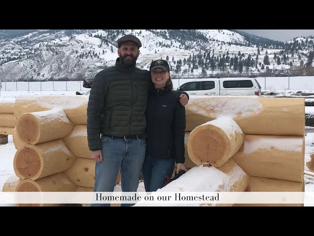 BUILDING OUR DREAM HOME | Log Home | Debt Free Living while Home Building