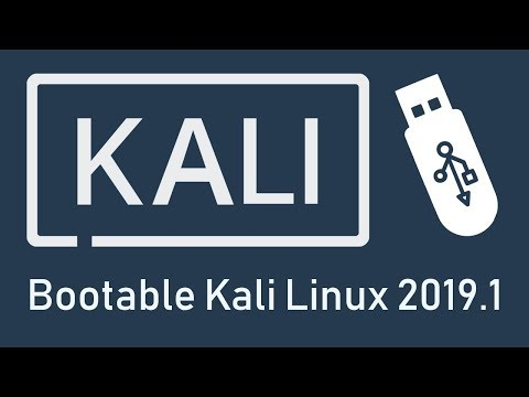Rufus: How to Create Kali Linux 2019 BootableLive