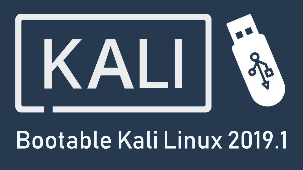 Rufus: How to Create Kali Linux 2019 Bootable/Live USB Flash Drive