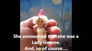 Carving A Tiny Gnome Doll By Noreen Crone Findlay