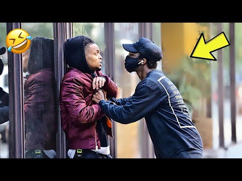 You Wanna Get SMOKED in the Hood Prank!