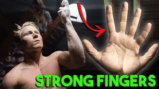 Build Finger Strength w Magnus Midtbø Method