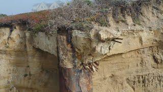 The 3-rocks-beach structure by RItz Carlton in Half Moon Bay, CA