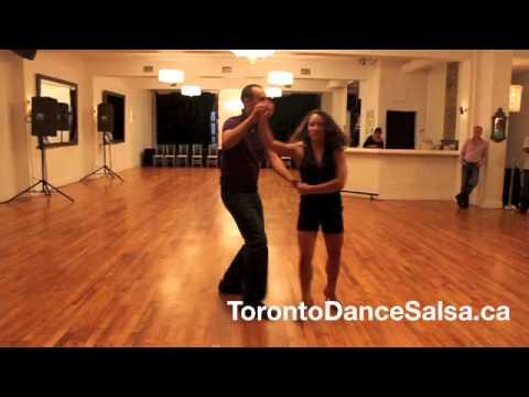 Toronto Dance Salsa Intermediate Combination #23