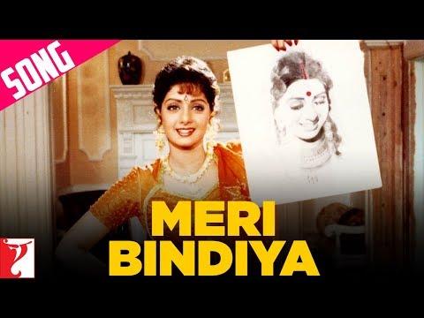 Meri Bindiya Song   Lamhe   Anil Kapoor   Sridevi   Lata Mangeshkar