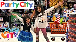 Kids Pretend Play and shopping at PARTY CITY!!