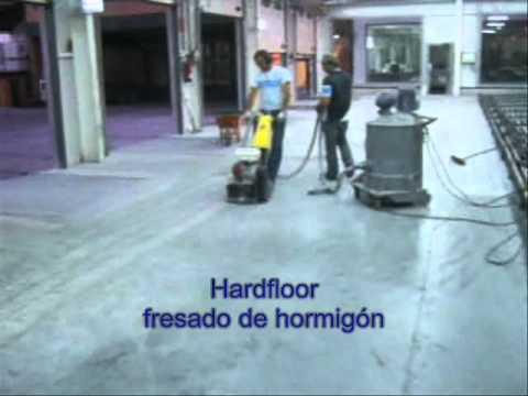 Fresado hormig n para instalar suelo de resina epoxi for Resina para hormigon