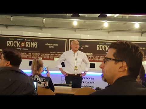 Video zur PK von Rock am Ring wurde zurückgezogen
