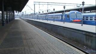 Электропоезд ЭД4М Ярославский вокзал