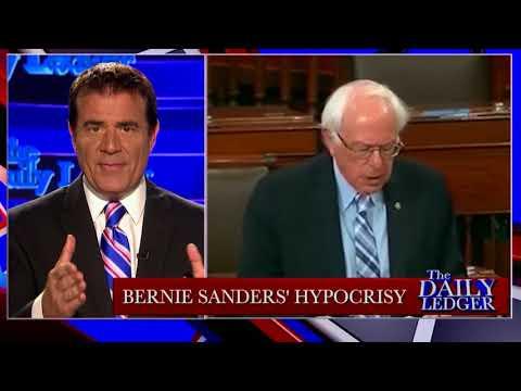 Stop the Tape! Bernie Sanders' Hypocrisy