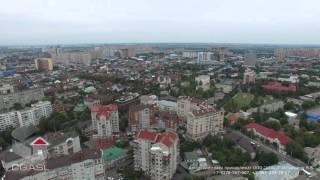 """Аэросъемка города Краснодар (кинотеатр """"Аврора"""")"""