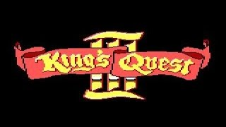 King's Quest 3 - To Heir is Human gameplay (PC Game, 1986)