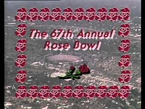 1981 Rose Bowl Intro