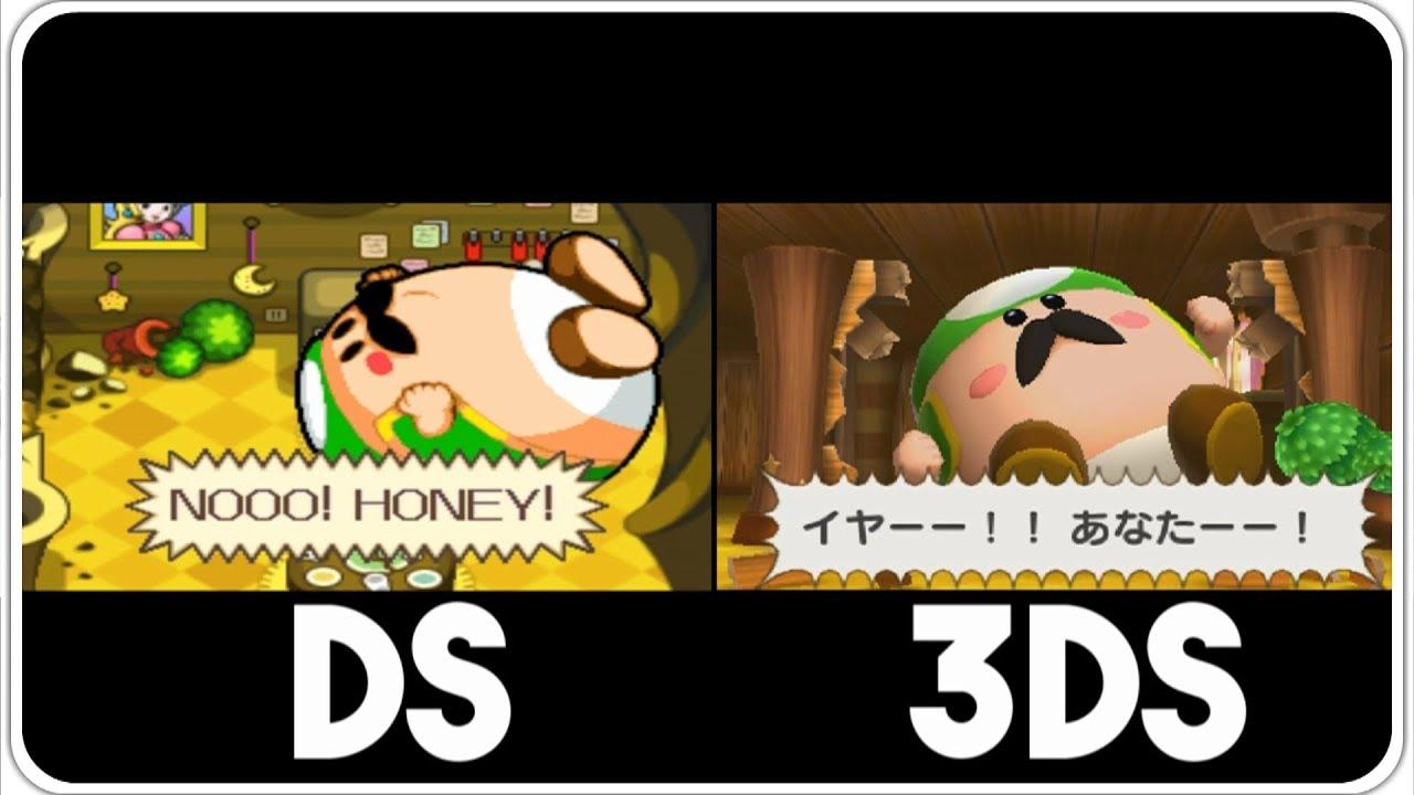 Mario Luigi Bowser S Inside Story 3ds Vs Ds Intro Comparison