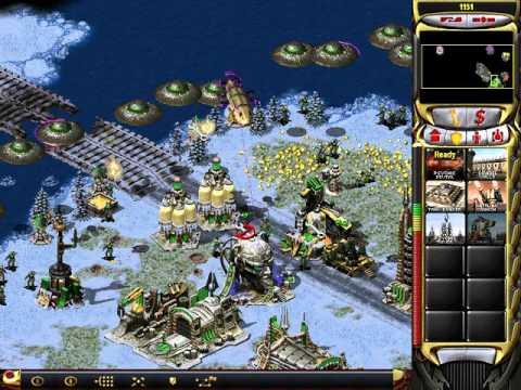 Red Alert 2: Yuri's Revenge Yuri vs 7 brutal enemies in Arctic circle(submarine attack)