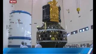Countdown for rocket launch with 31 satellites begin --------------...