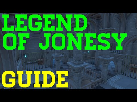 How To Complete The Legend Of Jonesy Escape By Abizzle5 - Fortnite Creative Guide
