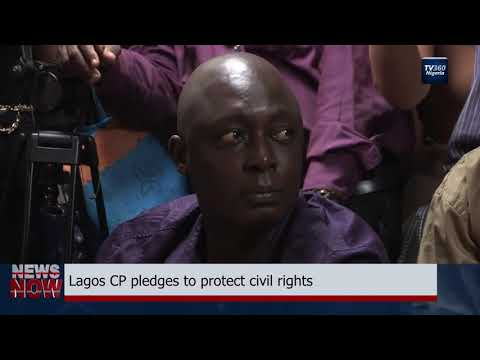New Lagos Police Commissioner hosts civil society groups (Nigerian News)