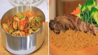 عرق روستو بالصوص البني - صينية بطاطس بالفحم - كيكة الكريمة اللباني| حلو و حادق حلقة كاملة