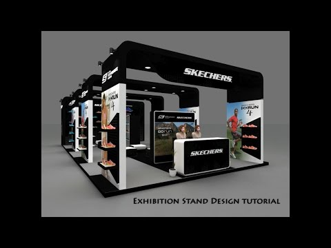 D Exhibition Design Tutorial : Exhibition stand design tutorial youtube