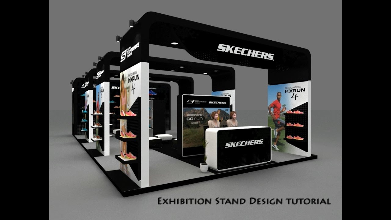Exhibition Stall Layout : Exhibition stand design tutorial youtube