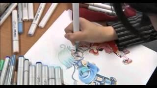 Японская школа по рисования манги(, 2013-07-07T16:25:20.000Z)