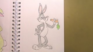 446 - How to Draw Bugs Bunny
