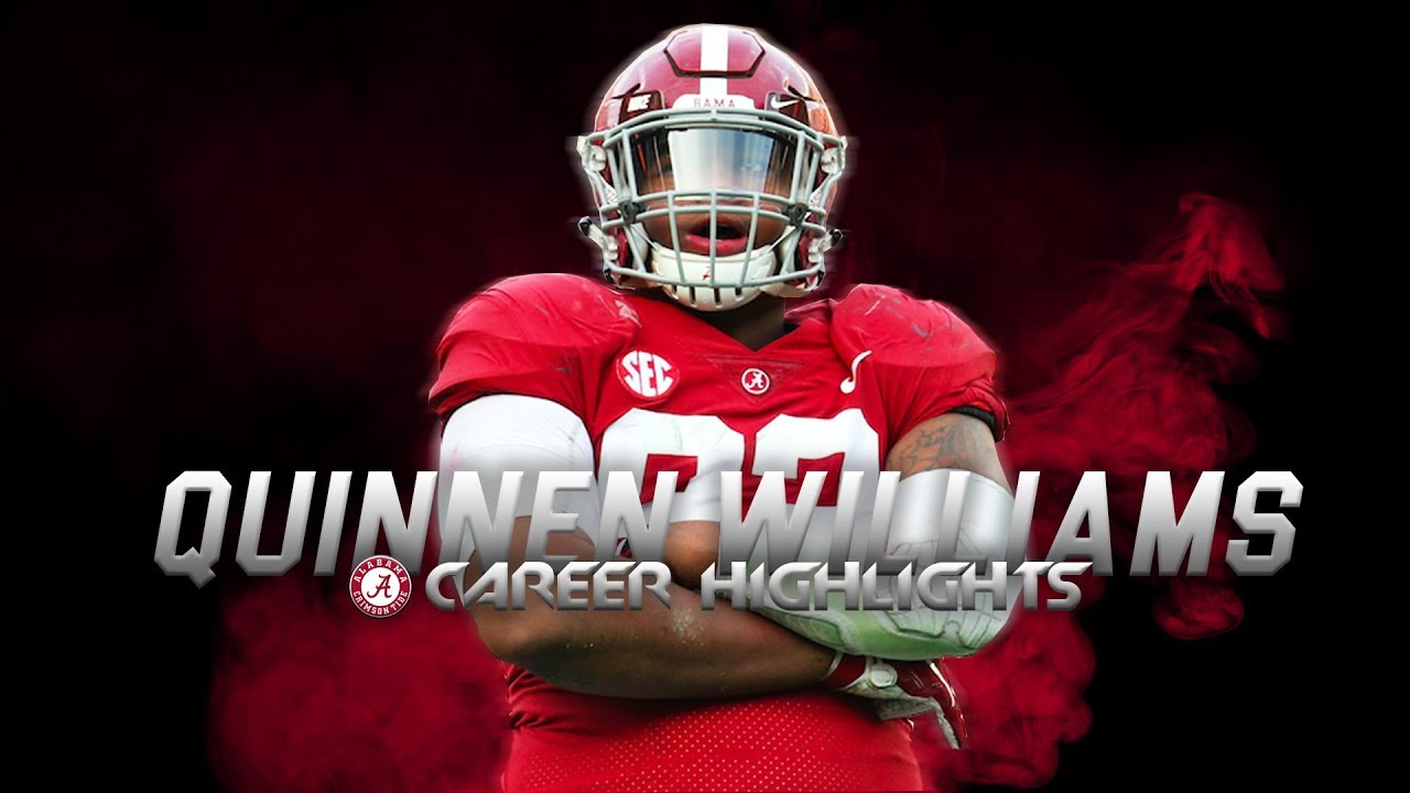 aad0a707c Scariest Player in College Football - Quinnen Williams Alabama Highlights ᴴᴰ