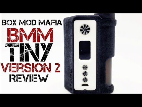 Tiny V2 Squonk Mod DNA250C from BMM Box Mod Mafia - New Favorite Device