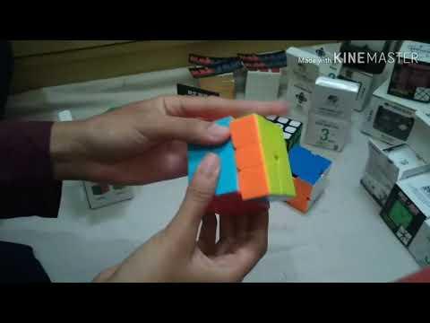 Unboxing Rubik Banyaakkk (yuxin black kirin, qiyi qizheng s, skewb, sq-1) dari Rubik Murah