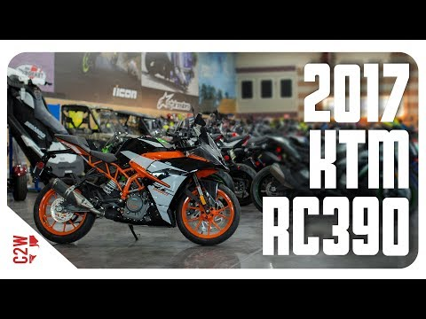 2017 KTM RC390 | First Ride