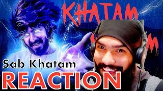 KHATAM REACTION - EMIWAY BANTAI (OFFICIAL VIDEO ) GSDhami || RAFTAAR || Latest Hindi Rap song 2018