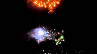 Guy fawks 5 november bluff fireworks display