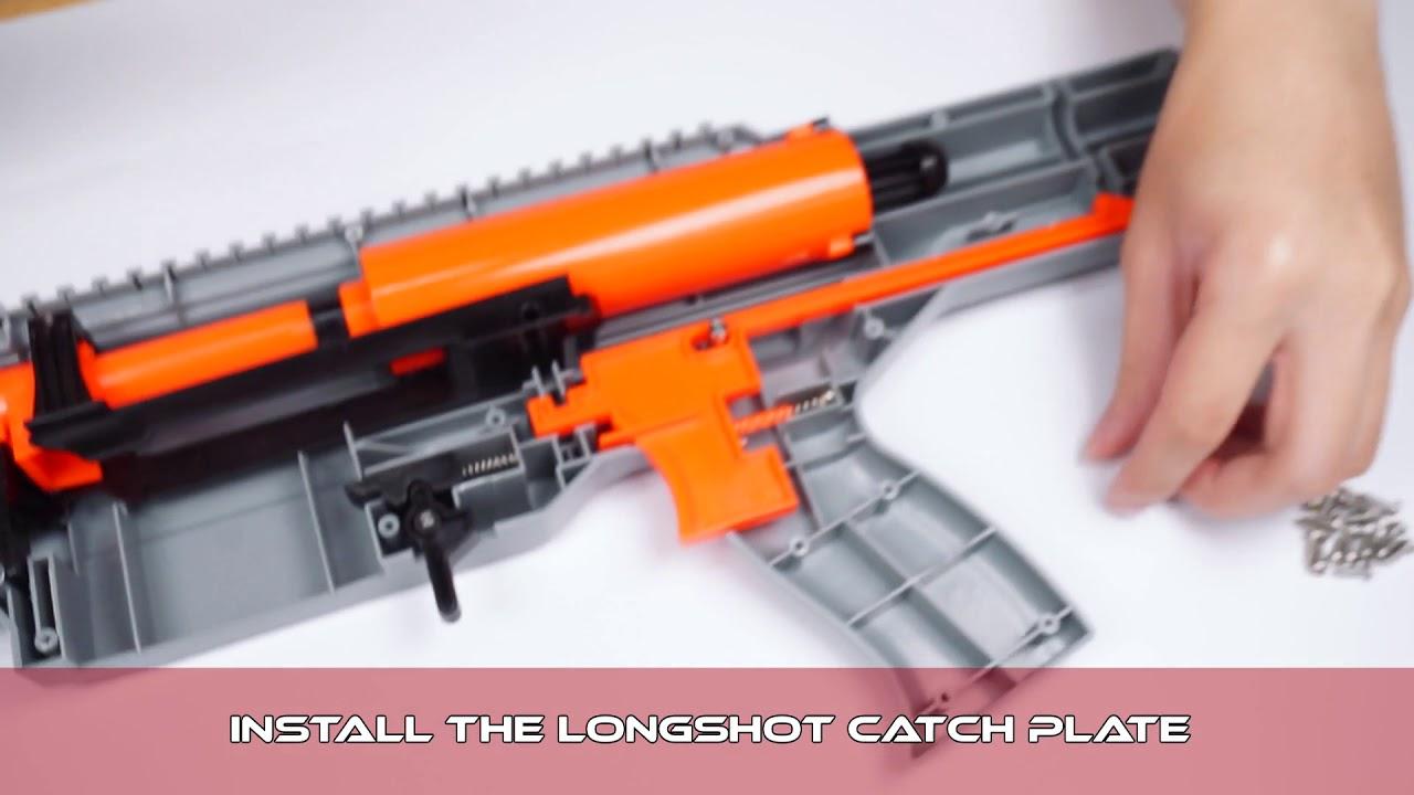 Nerf Longshot Reinforcing Plates